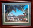 Paul Detelfsen Framed Print Days Gone By Locomotive Steam Engine Train 33 x 27