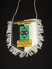 fanion wimpel pennant ancien football BORUSSIA MONCHENGLADBACH  DEUTSCHLAND