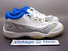 Nike Air Jordan XI 11 low I.E. Argon Blue Retro GS 2007 sz 5Y