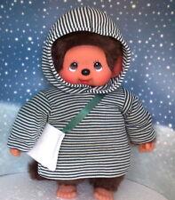 Kleidung Kleid mit Zipfelkapuze passend für MONCHHICHI Monchichi 45 cm Neu