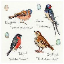 Bothy Threads Cross Stitch Kit-Jardín Aves 3