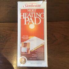 Sunbeam Moist Automatic Heating Pad 3 Heat Settings
