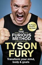 Tyson Fury The Furious Method New Hardcover Book / Free Delivery