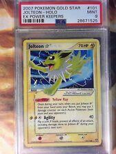 Pokemon PSA 9 Mint EX Power Keepers Gold Star Shining Jolteon 101