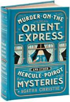 Murder on the Orient Express by Agatha Christie Mystery Collection Leather Book