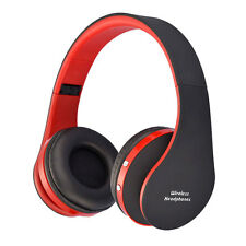Foldable Wireless Bluetooth Stereo Earphone Headset Headphone with Micro