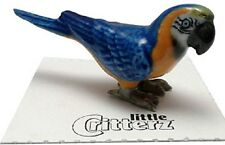 """LC981  Little Critterz  - Blue and Gold Macaw  """"Arara"""" (Buy 5 get 6th free!)"""