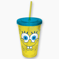 ICUP Spongebob Squarepants Cup with Straw (Travel Cup)