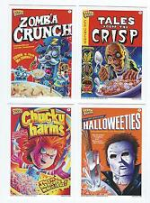 2011 Wax Eye CEREAL KILLERS Series 1 Set  (55 Cards) (Like Wacky Packages)