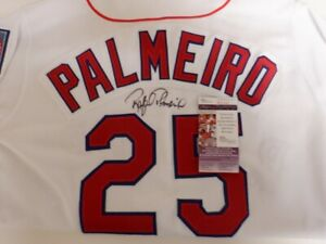 Rafael Palmeiro Autographed Authentic Texas Rangers Jersey- JSA W Authenticated