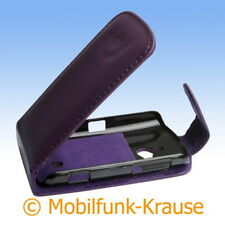 Flip Case Pouch Mobile Bag Case F. Sony Ericsson wt19/wt19i (Purple)