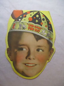 NICE! 1937 OUR GANG FUN KIT Hal Roach Morton Salt SPANKY ALFALFA BUCKWHEAT #1945