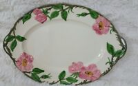 Franciscan DESERT ROSE 12-3/4 in. OVAL PLATTER Interpace Logo USA