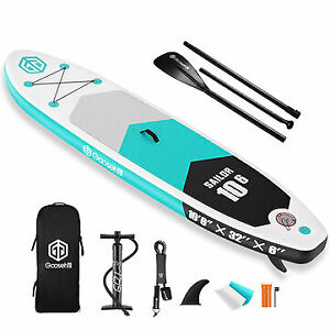 Goosehill Sailor Inflatable Stand Up Paddle Board 10' Long 32