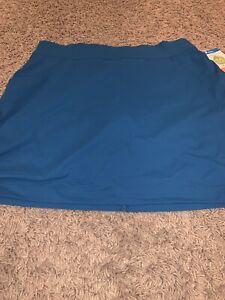 NWT Women's Medium Blue COLUMBIA Skort / Skirt Active Fit Omni-Shield