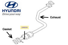 Genuine Hyundai Accent Centre Exhaust - 2865025000