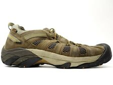 Keen Mens Voyageur Low Leather Athletic Soft Toe Hiking Leather Shoes Size 13