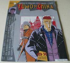 FUMO DI CHINA nr. 1 del 1989 (ed. NED 50 SRL) cover TONINELLI