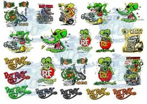 Rat Fink Decals   Ratfink by Ed Roth Decals in all scales from 1:64 up to 1:18