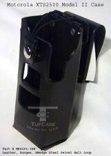Motorola Xts2500 Model Ii 6key Leather Case Withsvl Belt Loop Caseguys