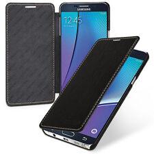 TETDED Premium Leather Case for Samsung Galaxy Note 5 Dijon II - (LC: Black)