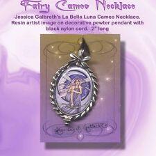 La Bella Luna Fairy Cameo Pendant by Jessica Galbreth