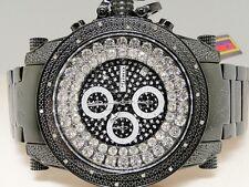 ICY MENS NEW MENS JOJO/JOJINO/JOE RODEO GENUINE REAL 18 DIAMOND WATCH MJ-8003