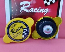 SANKEI Racing Radiator Cap 18LBS 1.3 Bar Yellow Color MADE IN JAPAN