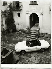 Alfa Romeo Giulia 1600 Spider Duetto, by Pinninfarrina - Photo Vintage 1966