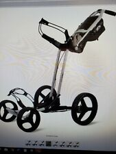 Sun Mountain Pathfinder 4 Golf Push Cart Trolley Cement Gray 4-Wheel Brand New