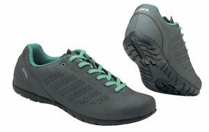 Louis Garneau Opal Women's Asphalt 42 EU 10.5 US Cycling SPD Spin Shoe