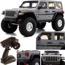 Axial AXI03003T1 1/10 SCX10III Jeep JLU Wrangler Sin escobillas 4WD con portal Listo Para Correr Gris