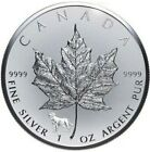 2018 1 Oz Silver $5 Canada Reverse Proof MAPLE LEAF Lunar Dog Privy Coin.