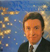 Peter Alexander Wunderschöne Weihnachtszeit [LP]