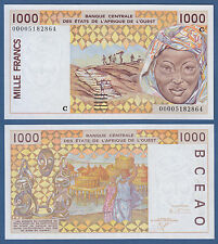 WEST AFRICAN STATES / BURKINA FASO 1000 Francs (20)00 UNC  P.311C k