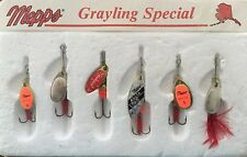 Alaska & Mepps Grayling Special - Vintage And Extremely Rare Original Collection