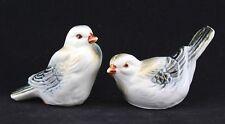 Vintage Bona China Bird Figurine Salt & Pepper Shaker Taiwan Handpainted