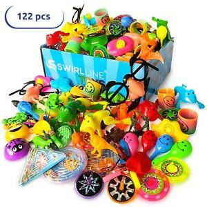 122 pcs Treasure Box Prizes for Classroom Bulk Toys Kids Birthday Party Favors