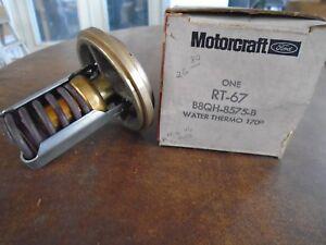 Motorcraft Thermostat International Harvester 2275 2276 S 2574 2575 13447 RT-67