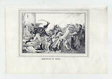 Napoleon Bonaparte - Aufstand-Kairo-Ägypten - Lithographie 1840 selten!