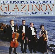 5 Novelettes Quartet No.5 (st Petersburg String Quartet) 0013491326221 CD