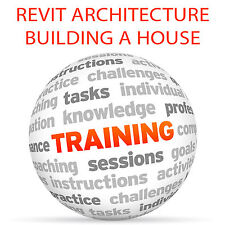 REVIT ARCHITECTURE Building a House - Video Training Tutorial DVD