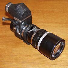 Leica VISOFLEX II with 200mm f4 Telyt M Lens OUBIO 16466M CAPS MAGNIFiER