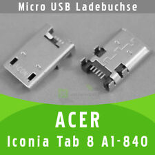 ✅ Acer Iconia Tab 8 A1-840 Micro USB DC Buchse Ladebuchse Strombuchse Connector