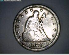 1875-S Twenty Cent Piece ( 20-328 10m/o )