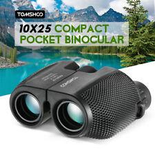 Kids Compact 10x25 Binocular Telescope Pocket Scope Birdwatching Travel Us D9L4