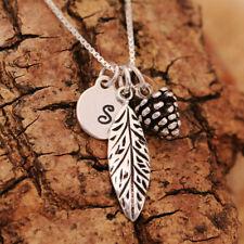 Sterling Silver Flowers Plants Fine Necklaces & Pendants