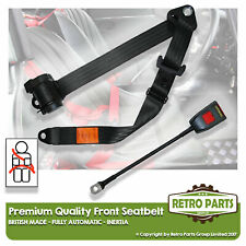 Front Automatic Seat Belt For Peugeot 204 Convertible 1969-1978 Black