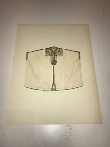 1922 Oriental Costume Antique Print Tilke North Africa Tunisia Gandoura Blouse