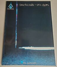 ERIC CLAPTON FROM THE CRADLE GUITAR TAB TABLATURE SONGBOOK SHEET MUSIC BOOK